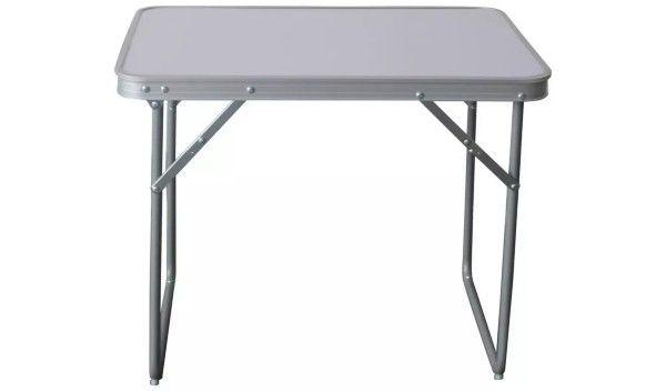 Składany stalowy stół kempingowy