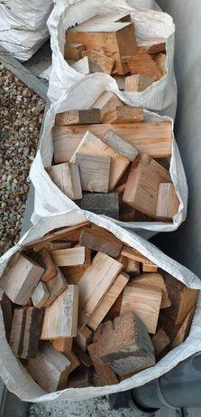 Drewno opałowe w workach do kominka