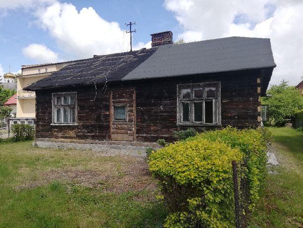 dom drewniany do rozbiórki