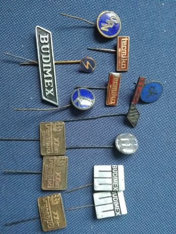 Stare piny firmy budowlane Budimex Elmor Lot Transbud