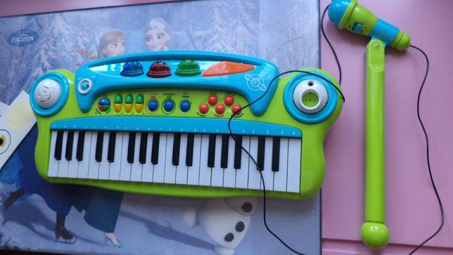 Pianinko keyboard dziecięce z mikrofonem