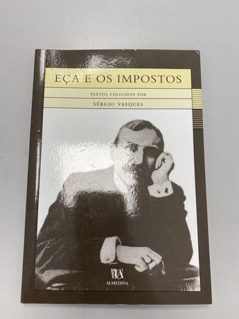 Livro Eça e os impostos - Sérgio Vasques