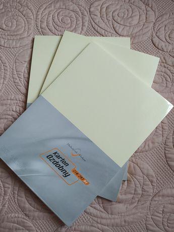 Karton ozdobny A4 - 246g kolor Kremowy DZ112-C