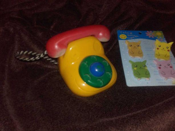 Telefon zabawka stary model