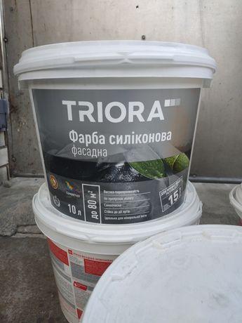 Фарба фасадна силіконова Triora