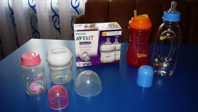 Набор бутылочек Philips Avent, бутылочка, бутылка, поилка,непроливайка