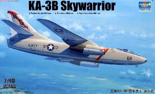 * TRUMPETER - 1:48 * KA-3B Skywarrior Strategic Bomber