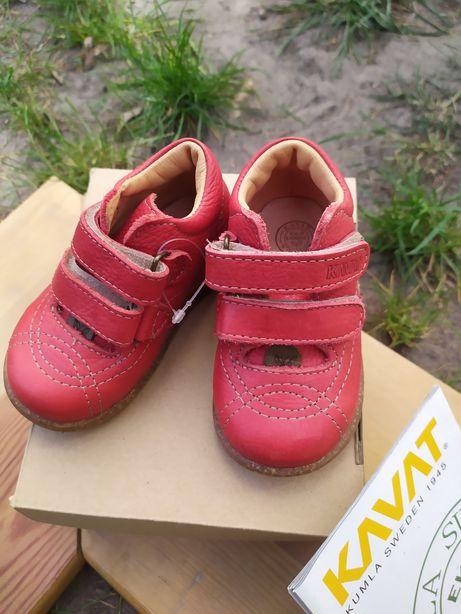 Buty buciki Kavat skórzane rozmiar 20 nowe