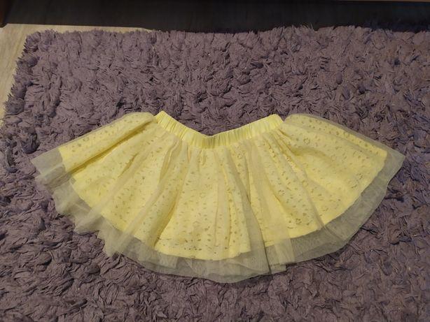 Śliczna żółta spódniczka