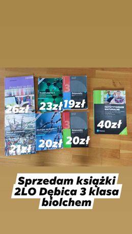 Sprzedam podręczniki pojedynczo lub w komplecie 2LO Dębica 3klbiolchem