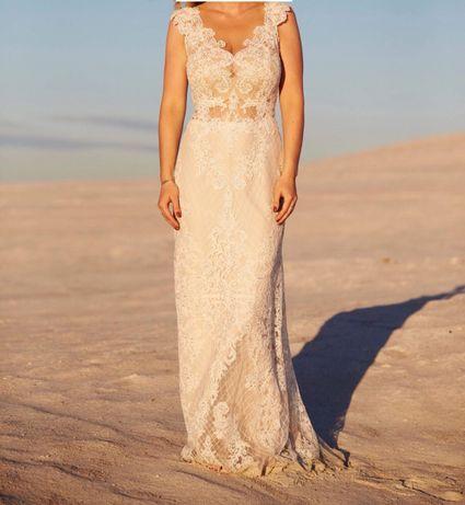 Suknia ślubna projektu Agnieszki Światły model Samanta