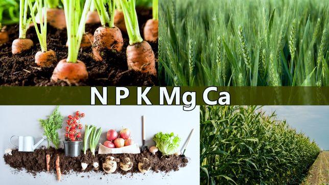 Max Calc wapno organiczne, odkwaszanie po 60 dniach, NPK
