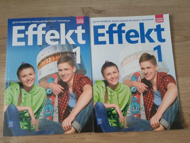 Effekt 1 J.niemiecki podręcznik i ćwiczenie
