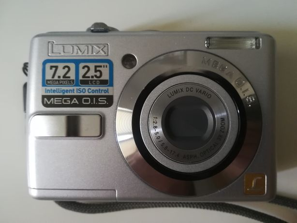 Aparat Fotograficzny Panasonic Lumix 7.2 MegaPixels 2.5'' lcd