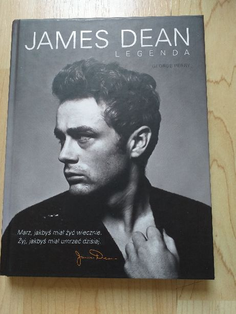 """James Dean. Legenda"" George Perry"
