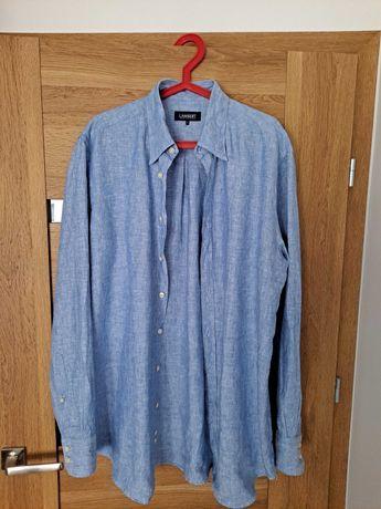Koszula z lnu LAMBERT Wólczanka
