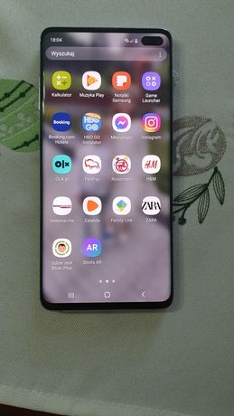Samsung Galaxy S 10 plus. Zielony 128 GB