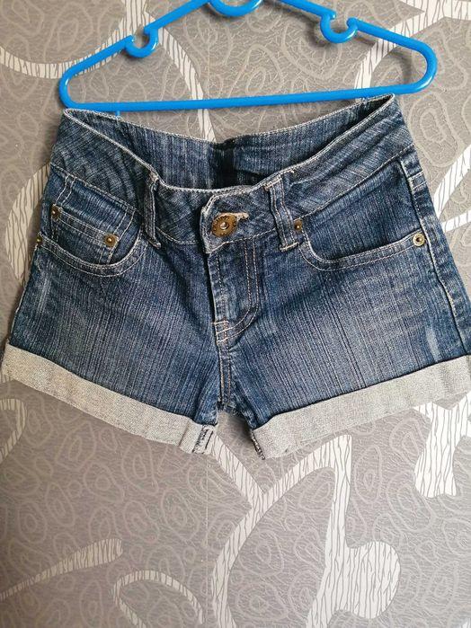 Spodenki jeans. R. 134 Świętochłowice - image 1