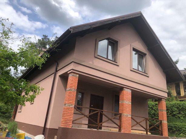 Капитальный дом  с уютной  террасой и подвалом в лесной зоне Ирпеня!