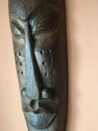 Maska afrykańska, rzeźba 1 metr olbrzymia