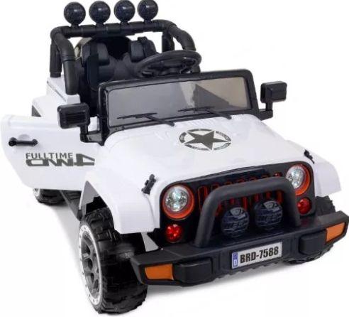 JAREX JEEP biały Auto na akumulator samochód