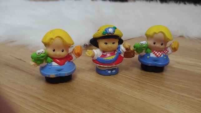 3 figurki Litlle People