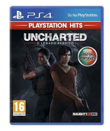 Jogo PS4 Uncharted: The Lost Legacy / O Legado Perdido (Novo Selado)