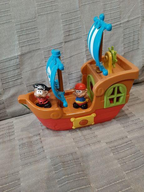 Statek piracki smiki dźwięki