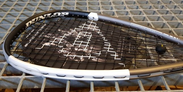 Rakieta do squasha Dunlop BLACKSTORM TITANIUM 4.0 135g