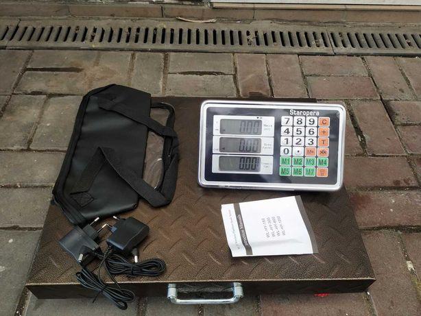 Весы Беспроводной ACS OPERA OP300 wifi (метал-40x50 cм / сумкой) 300кг