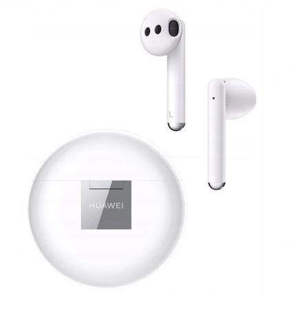 Huawei FreeBuds 3 (CM-SHK00) Białe/White NOWE GWARANCJA
