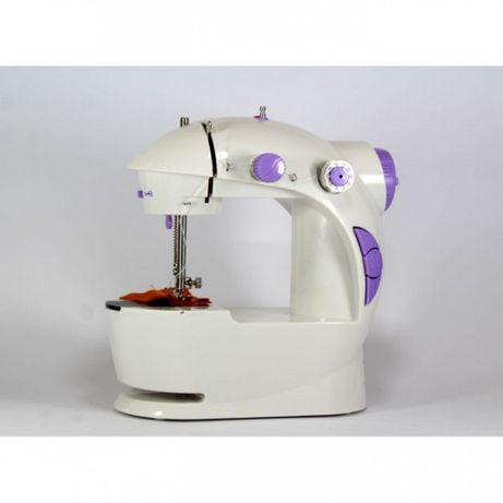 Портативная Мини швейная машинка 4 в 1 с педалью Fhsm 201