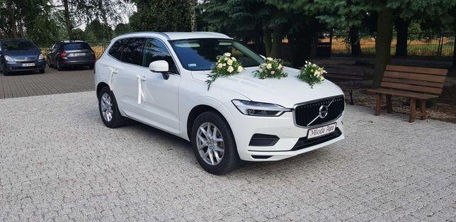 Nowe Volvo XC60 - auto do ślubu wynajem auta wesele