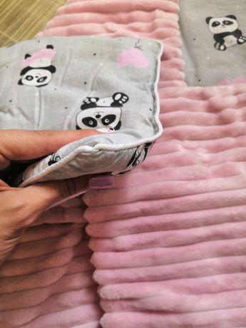Набор для девочки плед и подушка