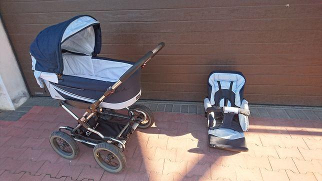 Emmaljunga wózek z gondolą i spacerówka