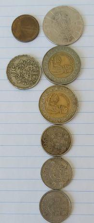 Conjunto de moedas de 1982 a 1991