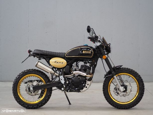Bullit Hero 125 Gold Black