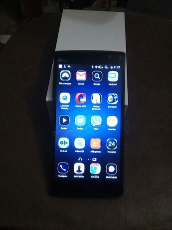Смартфон leagoo elit5 5.5 16 GB 4000ma 13мП фронт 8 мП тил+доп аккумул