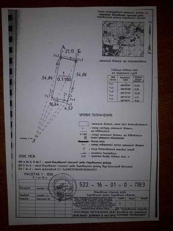 Продам участок р-н Ольховки ВН1