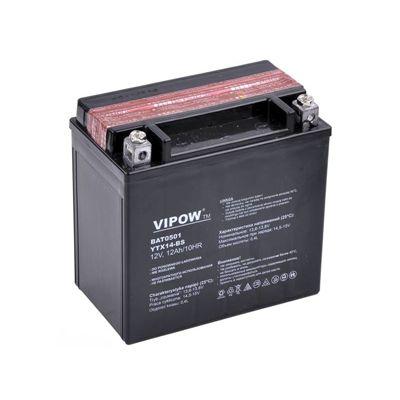 Akumulator żelowy 12V 12Ah do motocykli Vipow