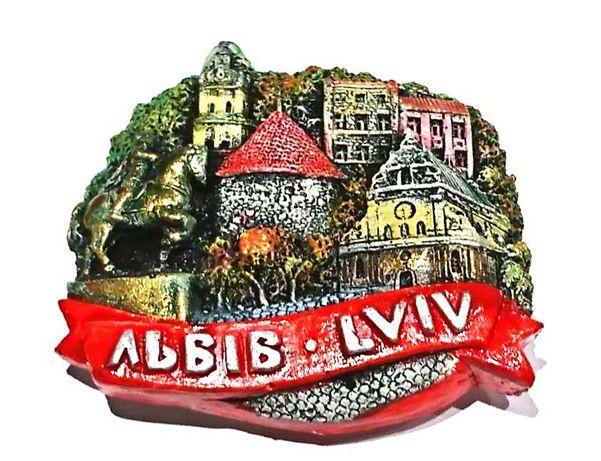 Magnes na lodówkę Lwów, Ukraina