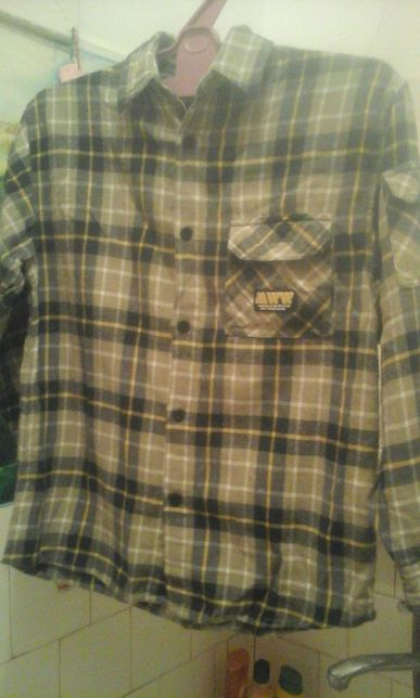 Рубашка байковая, теплая 146-152.Сорочка байкова