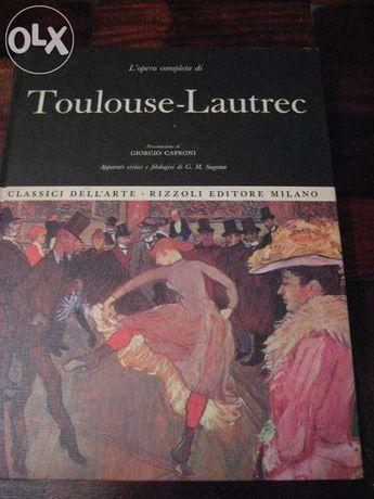 Toulouse-Lautrec (livro em italiano) (portes grátis)