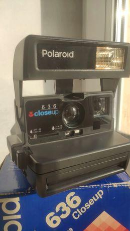 Polaroid 636 closeup made in UK