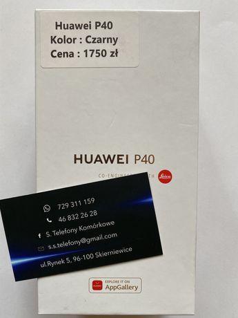 Telefon Huawei P40 Czarny