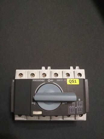 Реверсивный рубильник - выключатель нагрузки Socomec SIRCO M 63 A