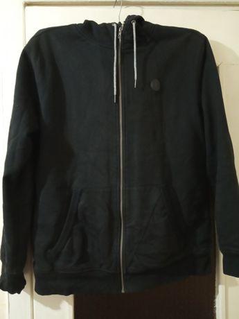 Volcom меховушка толстовка кофта на молнии меховуха свитер