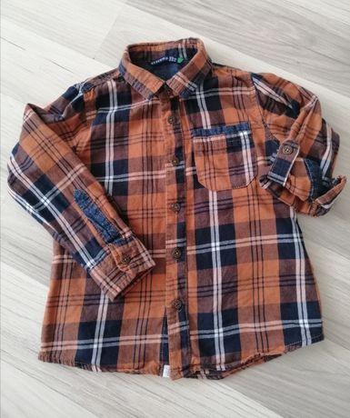 3 koszule 98 104 chłopiec