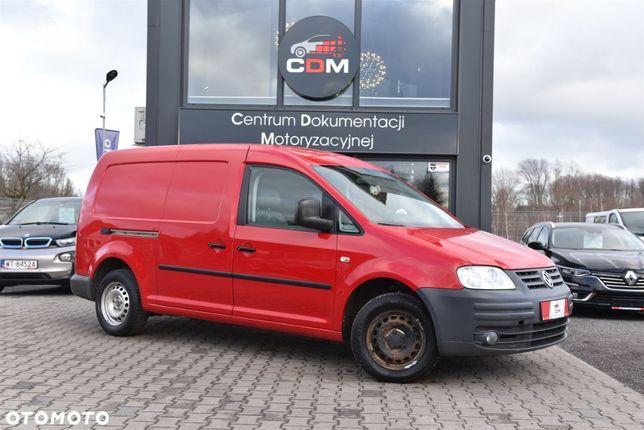 Volkswagen Caddy  1.9 TDI 105 KM Serwis L2H1 Certyfikat Faktura VAT Po Wymianach!