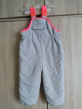 Spodnie zimowe Zara kombinezon 86